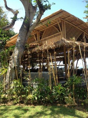 Prama Sanur Beach Bali : Bamboo cafe