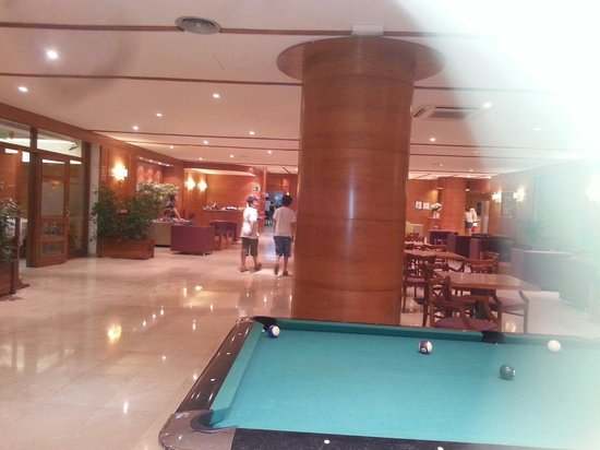 Gran Garbi Mar: The lobby area where you got free WiFi