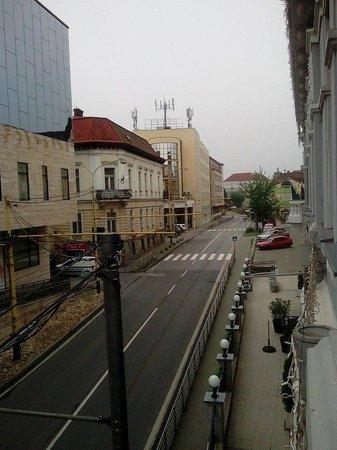 Hotel Dubna Skala: Вид из окна 2-го этажа