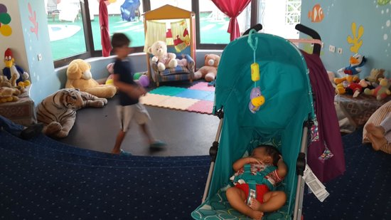 Hyatt Regency Sharm El Sheikh Resort : baby Sila at the kids club