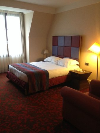 Radisson Blu Hotel at Disneyland Paris: Comfy bed