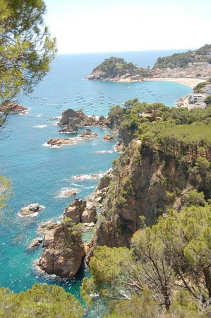 Giverola Resort: COTE AVEC VUE TOSSA