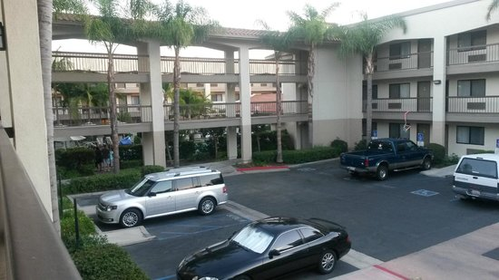 Best Western Plus Orange County Airport North: View from our room