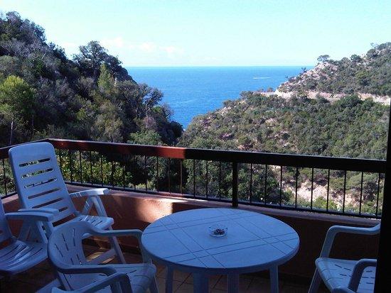 Giverola Resort: VUE DE LA TERRASSE