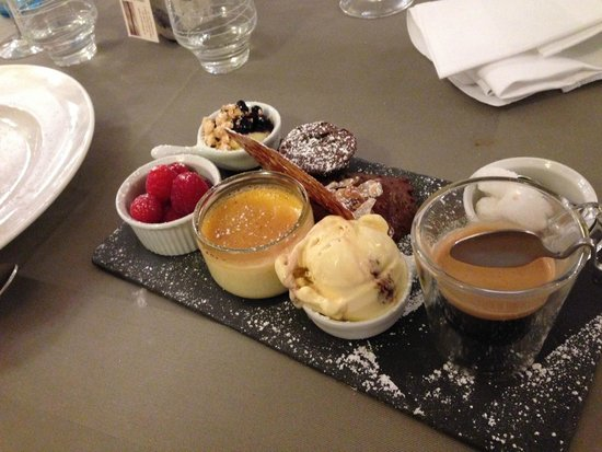 La Cuiller a Pot: cafe gourmand