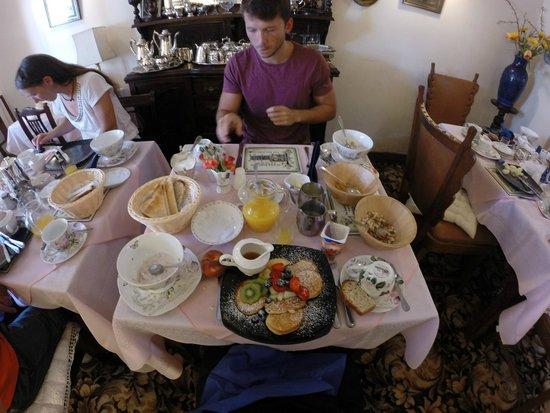Ben View House: Frühstück