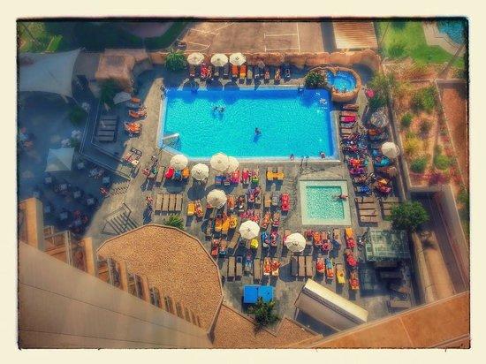 Sandos Monaco Beach Hotel & Spa: Pool area from 13th floor
