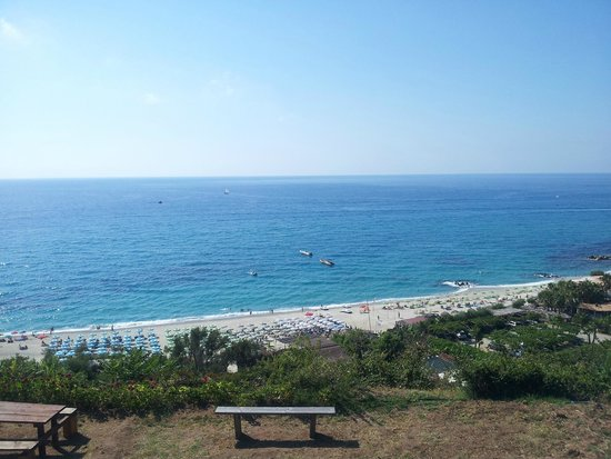 Villaggio Residence Vadaro: Vista mare dal nostro balcone