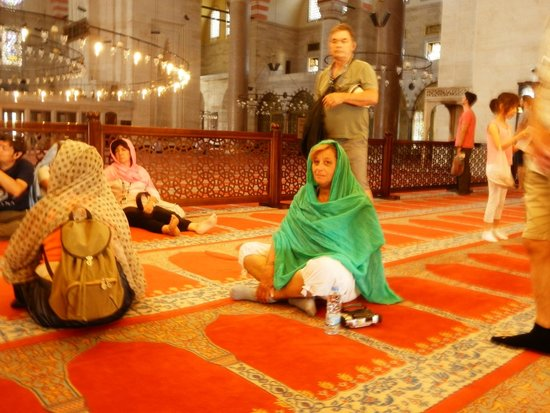 Istanbul Tour Guides - Day Tours: moschea blu