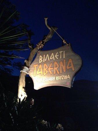 Vilaeti Taverna: Bilaeti Taverne
