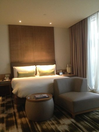 Crowne Plaza Changi Airport: Fantastic comfy bed