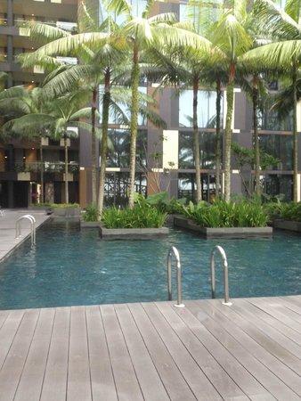 Crowne Plaza Changi Airport: Glorious pool