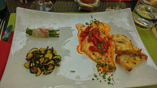 Il Principe Restaurant : Sea bass
