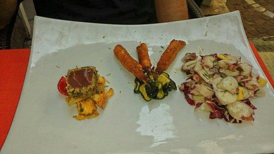 Il Principe Restaurant : Warm seafood salad. Excellent!