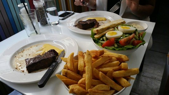 Brasserie Harkema : Tasty entercout