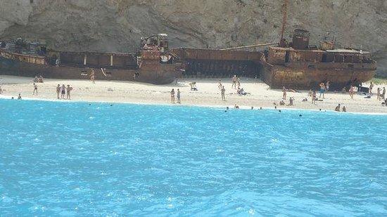 Plage de Navagio : Такого цвета моря я нигде не видела!