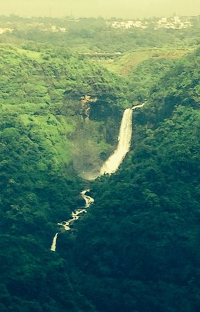 Khandala, Indien: The big fall view