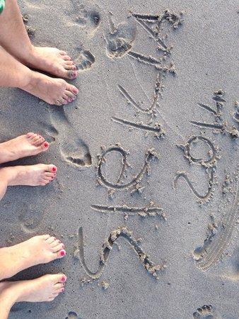 Le Dune Beach Club: Le tre grazie