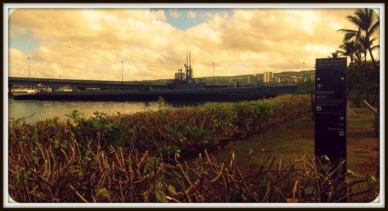 USS Bowfin Submarine Museum & Park: Bowfin at Pearl Harbor Memorial