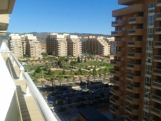 Apartamentos Marina d'Or Multiservicio: Vista desde el balcón hacia el interior