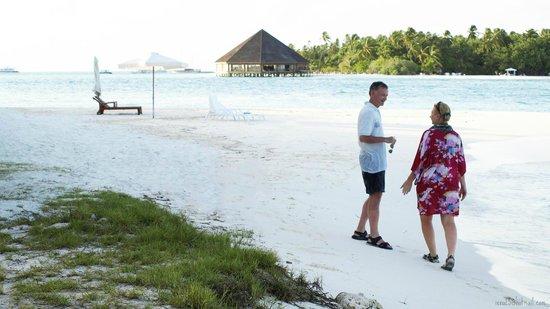 Bibee Maldives: Private beach with resort view
