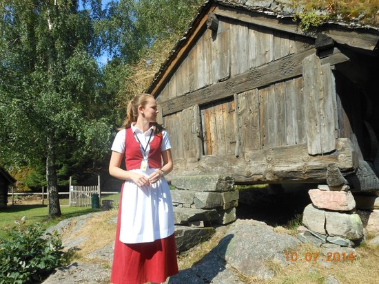 Kristiansand Museum: Lovely guide and part of Museum