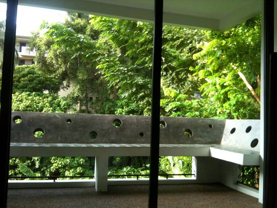 Surintra : View from the balcony.