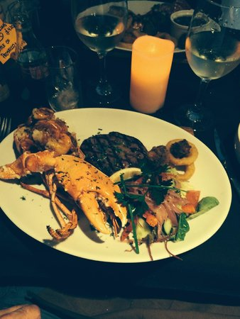 Roseville Bistro: Luxury Surf and Turf