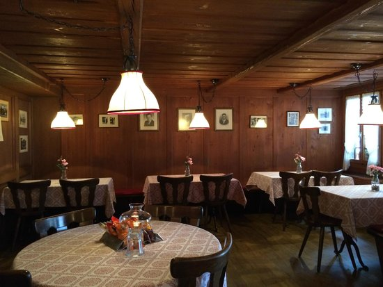 Restaurant Baren: Inside view