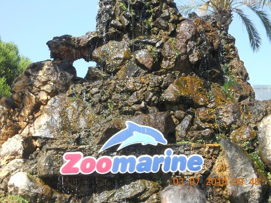 Zoomarine Algarve : Entrance