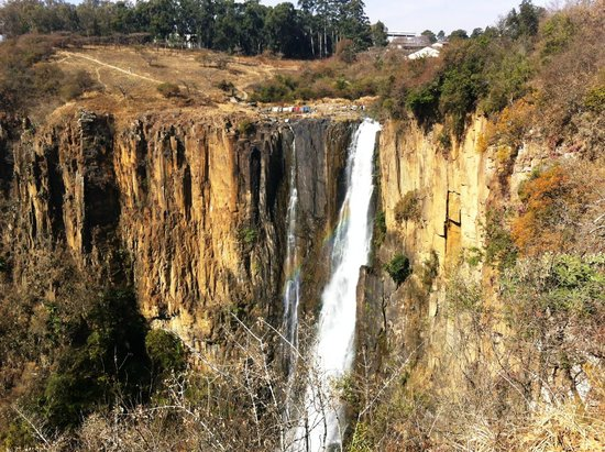 Howick Falls: The spectaculr 91m falls in the heart of the Midlands