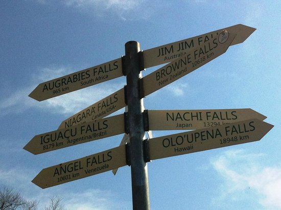 Howick Falls: Choose your Fall!