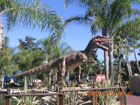 Zoomarine Algarve : Dinosaur show