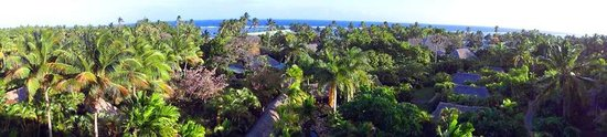 Outrigger Fiji Beach Resort: View from Reception