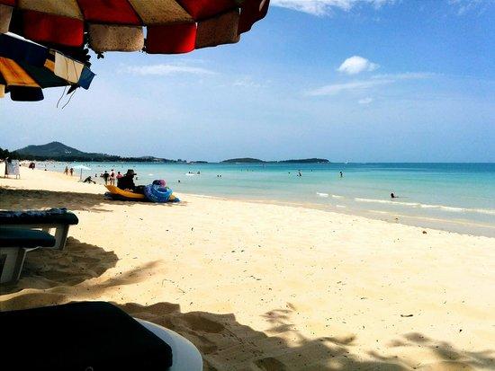 Sans Souci Samui: Spiaggia di chaweng