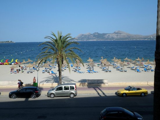 Hoposa Pollentia Hotel: View from our room,208.