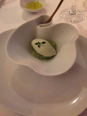 La Vague d'Or: Absenth icecream
