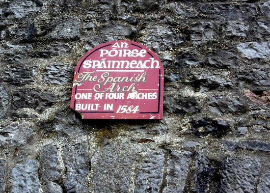The Spanish Arch: Galway