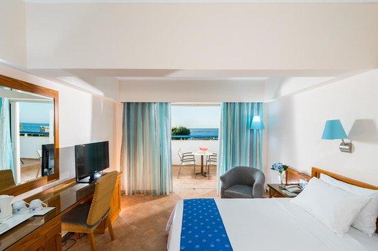 Lyttos Beach Hotel : BUNGALOW SEA VIEW