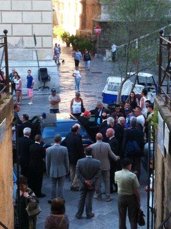 Church of San Cataldo: Dopo la 'cerimonia'
