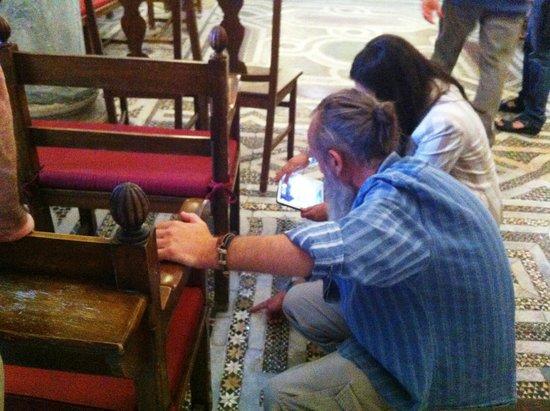Church of San Cataldo: Il restauratore illustra il suo lavoro alla giornalista