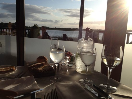 Wineport Lodge: View from the restaurant