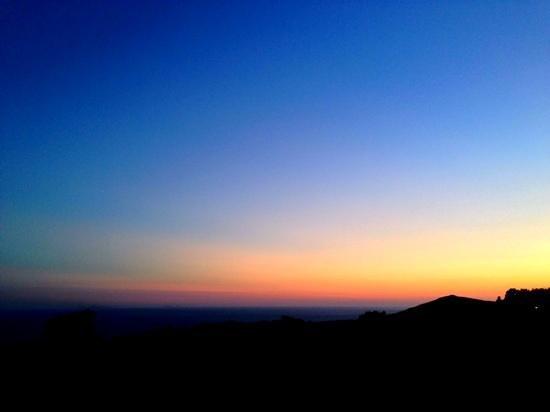 Casa Mediterranea: tramonto dall'agriturismo