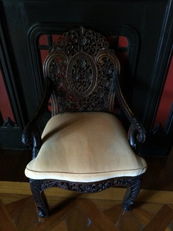 Pestana Palace Lisboa: chaise salon chinois
