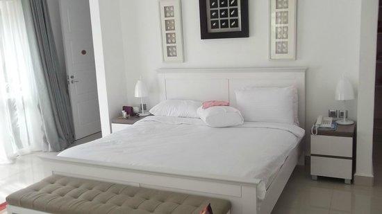 Leopard Beach Resort & Spa : Slaapkamer met tweepersoonsbed