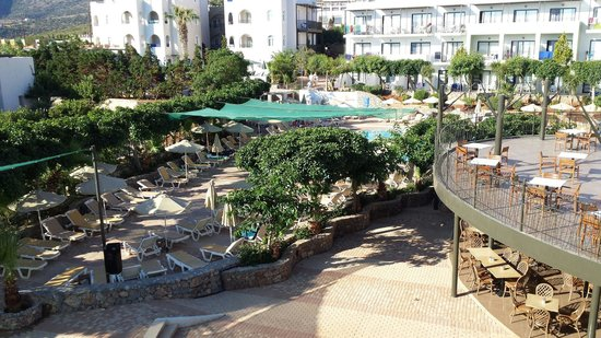 Arminda Hotel and SPA : Just arrived; First day time view from balcony.
