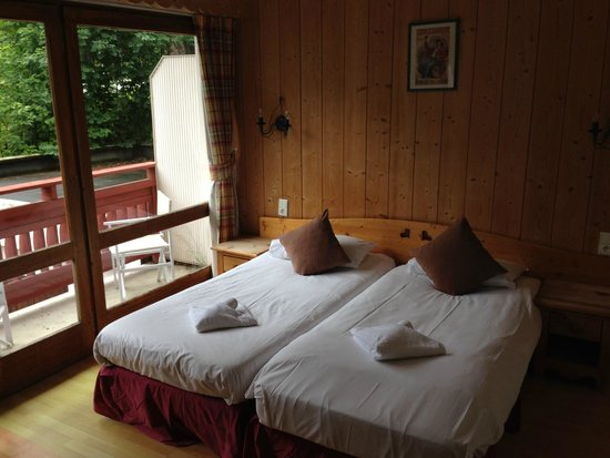 La Sapiniere : Our room