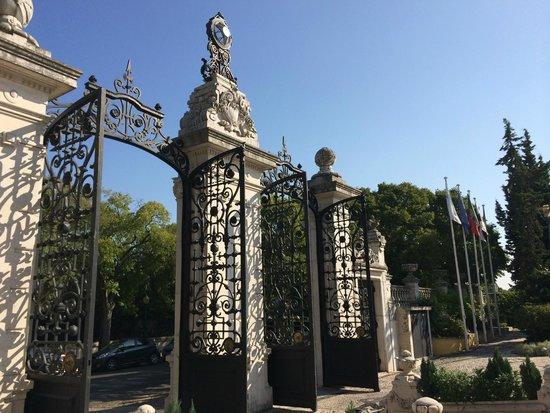 Pestana Palace Lisboa : entrée