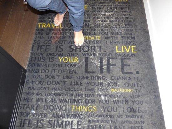 Art'otel Amsterdam: Inspiring carpets