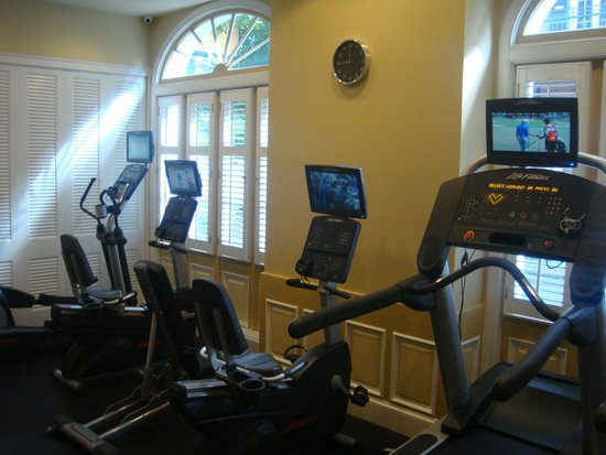 Hotel Mazarin: Good gym